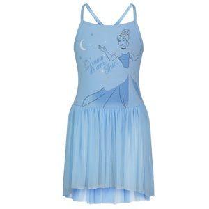 Disney Ballet Leotard Tutu Cinderella Dress
